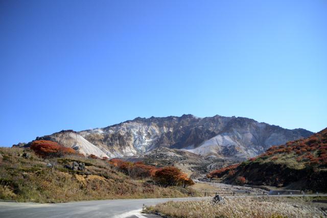 北海道 函館 恵山 登山 紅葉