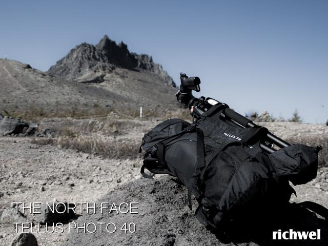 ノースフェイス テルスフォト40 登山用カメラバック