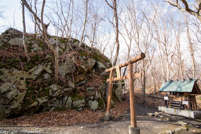 北海道 大沼のパワースポット 駒ケ岳神社
