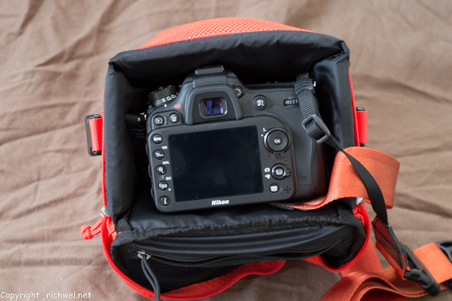 ノースフェイス エクスプローラー カメラバック nikon D7100