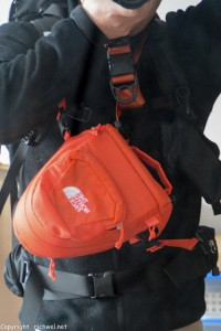 登山用カメラバック ノースフェイス エクスプローラー