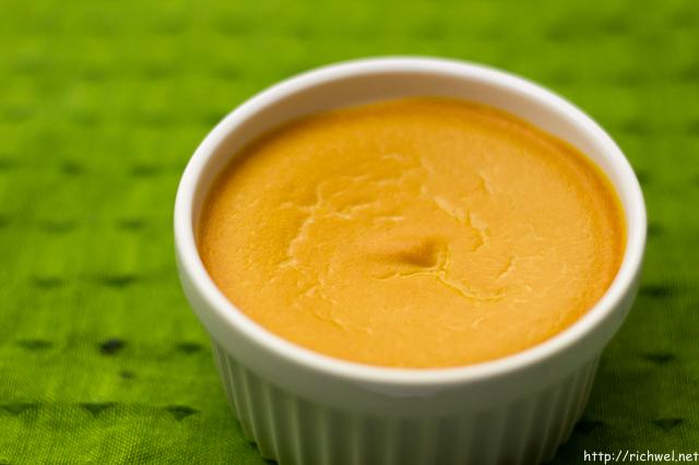 みよい農園 うらごし有機かぼちゃとアイスクリームで作ったカボチャプリン