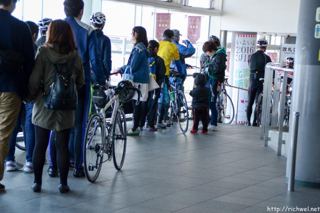 函館山 自転車 ロードバイク
