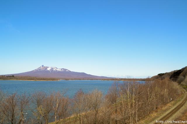 駒ケ岳と大沼
