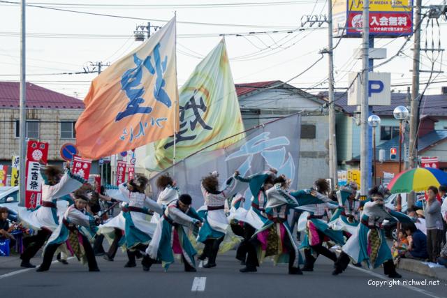 三吉神社 ついんくる YOSAKOIソーラン