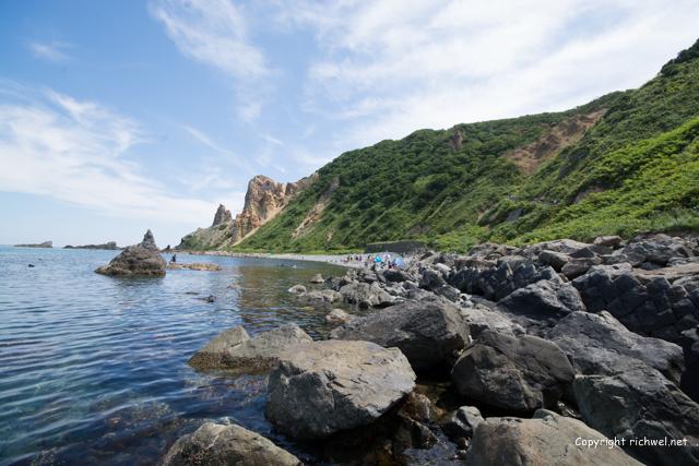 積丹ブルー 島武意海岸
