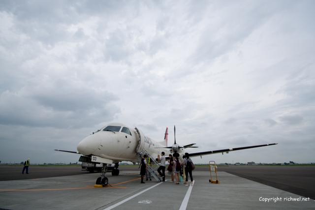 HAC 673 飛行機 サーブ・スカニア社 SAAB340B