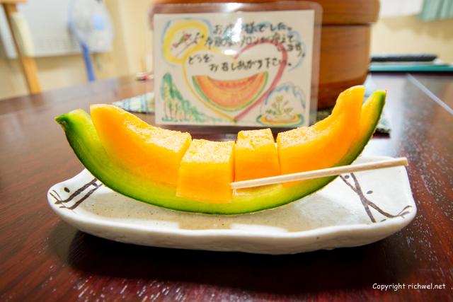 田中屋ひなげし館 利尻島の宿 メロン