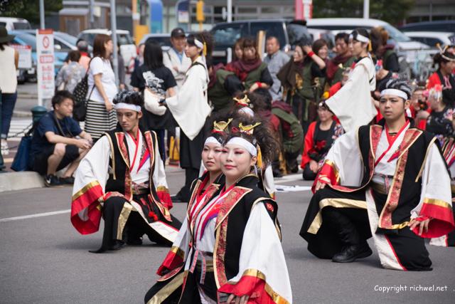 YOSAKOIソーラン祭り 道南大会 2015 函館いさり火