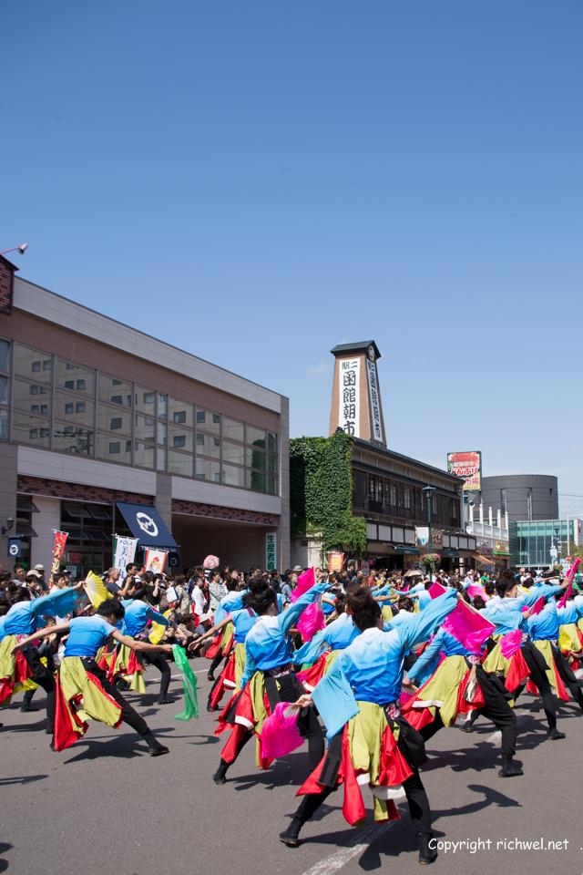 YOSAKOIソーラン祭り 道南大会 2015 函館朝市