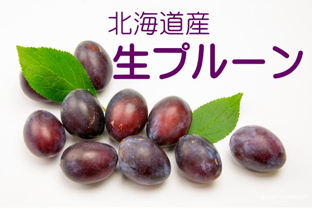 北海道産 生プルーン インターネット通販