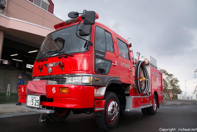 森町消防本部の見学イベントに行ってきた