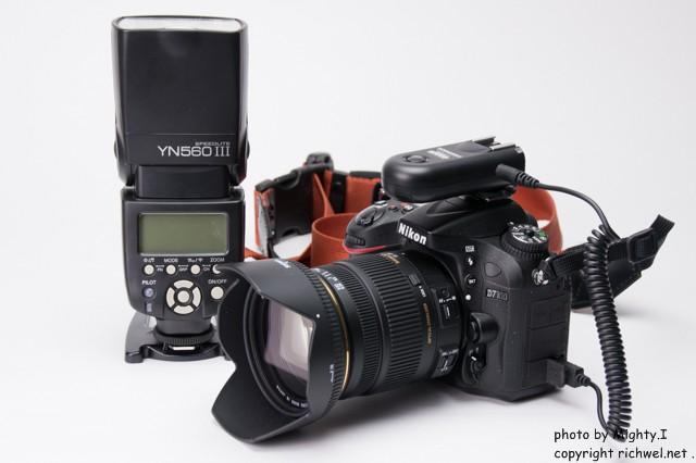YONGNUO YN560Ⅲ ラジオスレーブRF603N Ⅱ