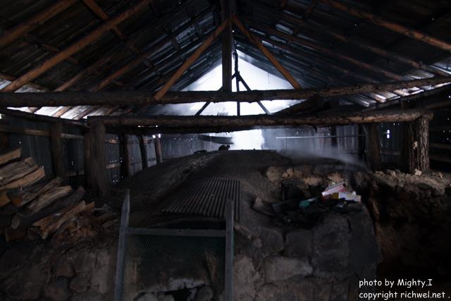「こまがたけ 炭の森」 昆布最中本舗 七福堂 森町の木炭生産
