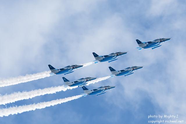北海道新幹線開業イベント・ブルーインパルス祝賀飛行 前日