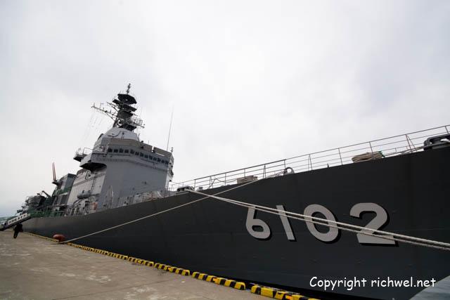 函館で海上自衛隊 試験艦 あすか 一般公開