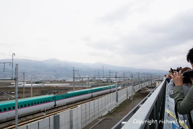 新函館北斗駅へ行ってきた。 H5系新幹線