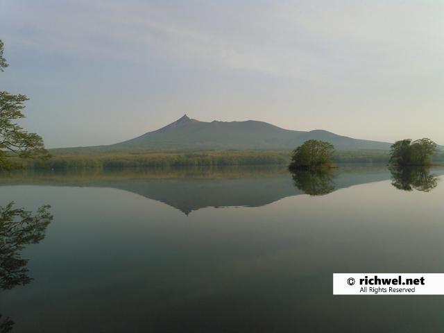 駒ヶ岳と大沼公園