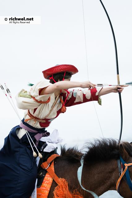 函館どさんこフェスタ 流鏑馬(やぶさめ) 2016