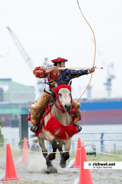 流鏑馬 北海道 函館 観光