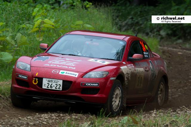 JAF全日本ラリー選手権第5戦 ARKラリー洞爺 2016