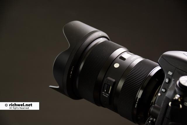 カメラレンズ シグマ24-35mm f2 Art