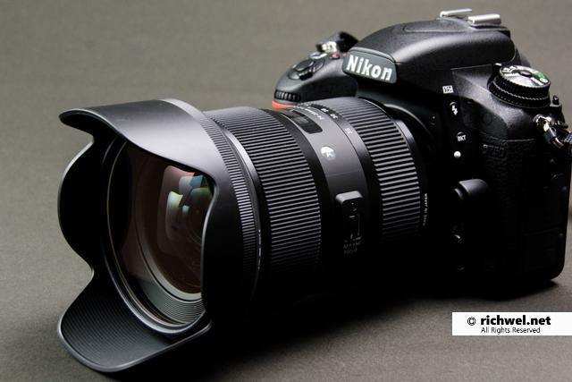 カメラレンズ sigma シグマ 24-35mm f2 Art