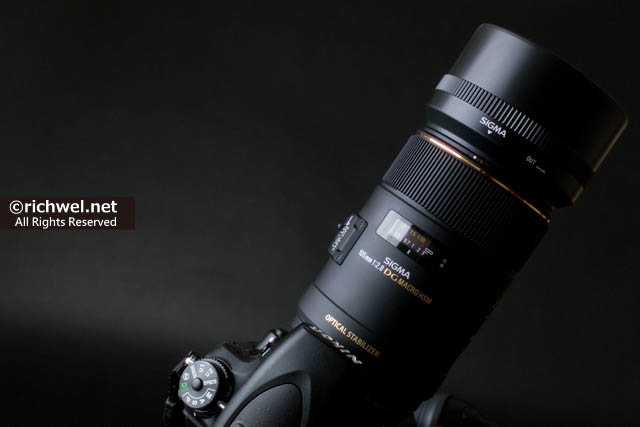 SIGMA 単焦点マクロレンズ MACRO 105mm F2.8 EX DG OS HSM シグマ 購入 評価 レビュー
