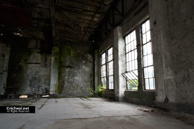 旧北炭清水沢火力発電所 夕張 廃墟